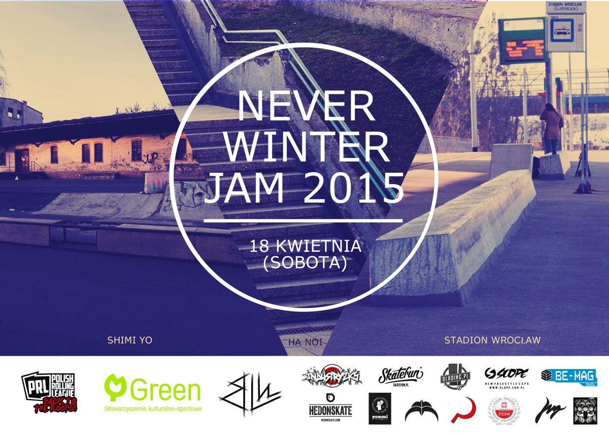NEVER WINTER JAM_plakat
