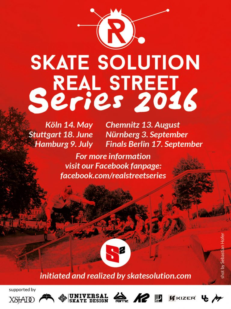 Flyer Real Street Series 2016