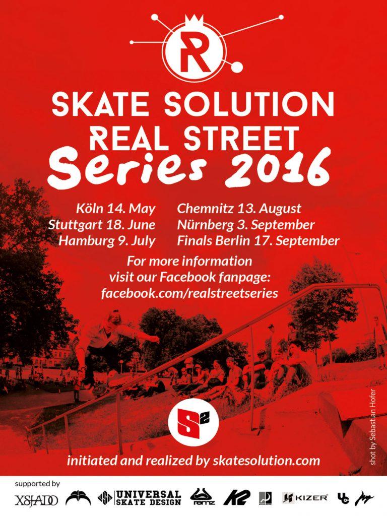 Flyer Real Street Series 2016