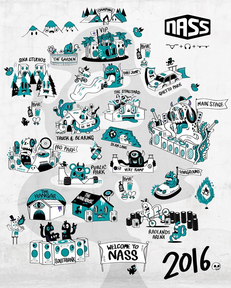 nass festival 2016 - flyer