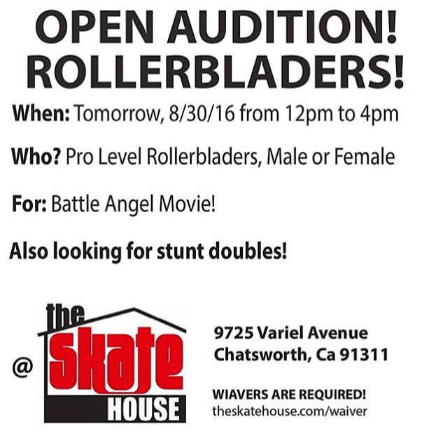 pro auditions