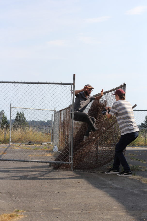 CARTER LEBLANC- SWEATSTANCE UP THE FENCE- PHOTOGRAPH BY SAM ASKEN