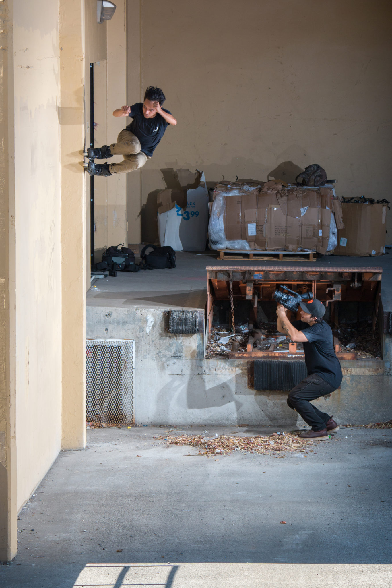 Sean Keane - Wallride - Photograph by Erick Garcia