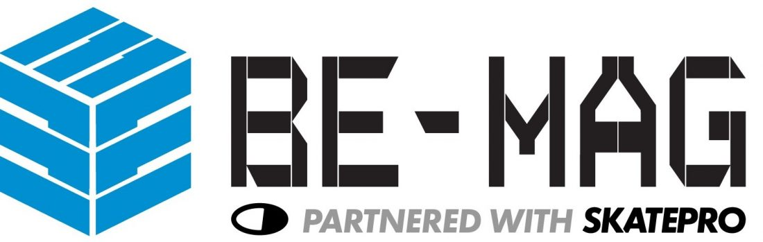 This image has an empty alt attribute; its file name is be_mag_logo_w_skatepro3-12-1100x349.jpg